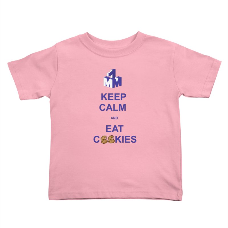 Keep Calm Kids Toddler T-Shirt by 1madmamma's Shop