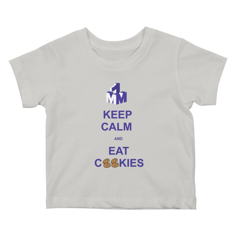 Keep Calm Kids Baby T-Shirt by 1madmamma's Shop
