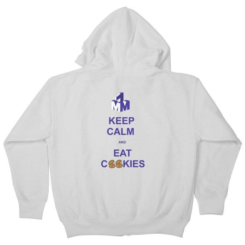 Keep Calm Kids Zip-Up Hoody by 1madmamma's Shop
