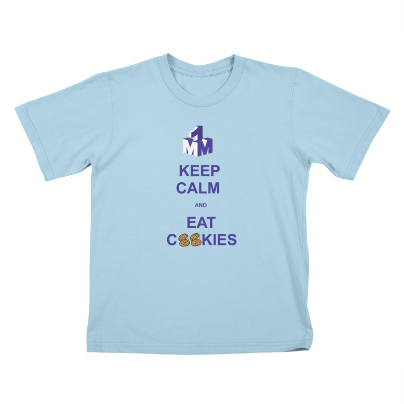 Keep Calm Kids T-Shirt by 1madmamma's Shop