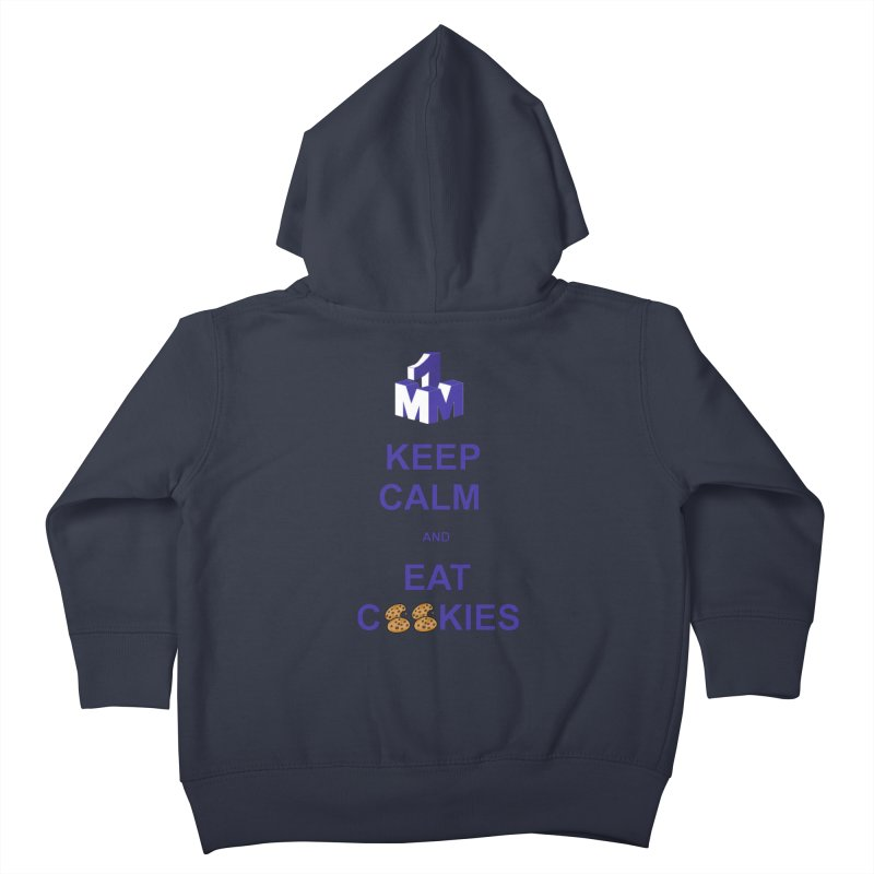 Keep Calm Kids Toddler Zip-Up Hoody by 1madmamma's Shop