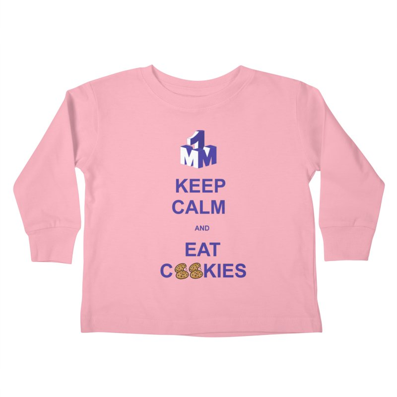 Keep Calm Kids Toddler Longsleeve T-Shirt by 1madmamma's Shop