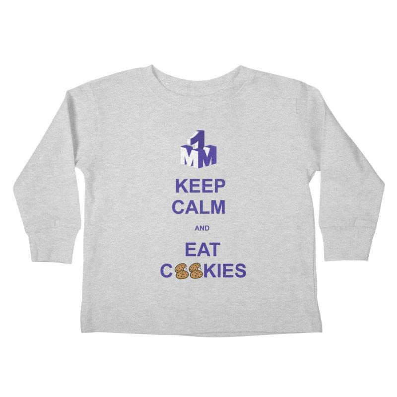 Keep Calm Kids Toddler Longsleeve T-Shirt by 1madmamma's Shop