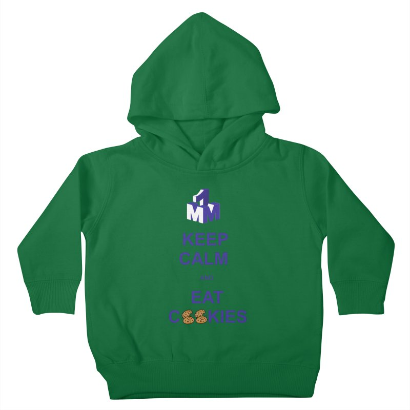 Keep Calm Kids Toddler Pullover Hoody by 1madmamma's Shop