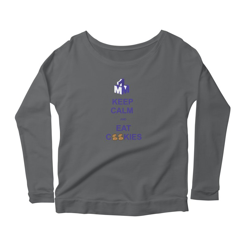 Keep Calm Women's Scoop Neck Longsleeve T-Shirt by 1madmamma's Shop