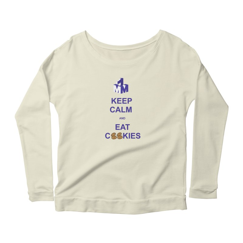 Keep Calm Women's Longsleeve Scoopneck  by 1madmamma's Shop