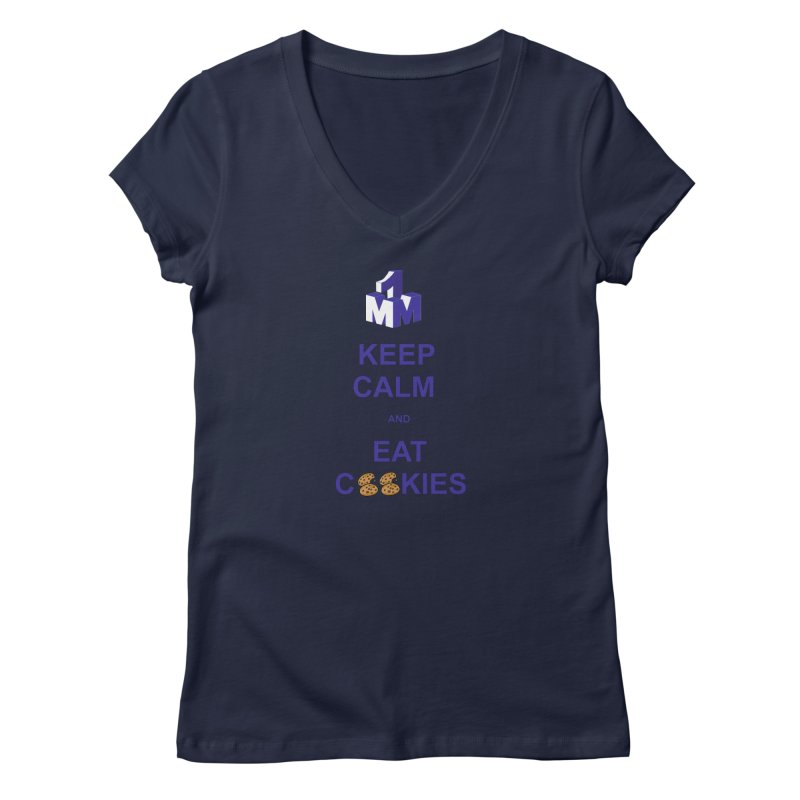 Keep Calm Women's V-Neck by 1madmamma's Shop