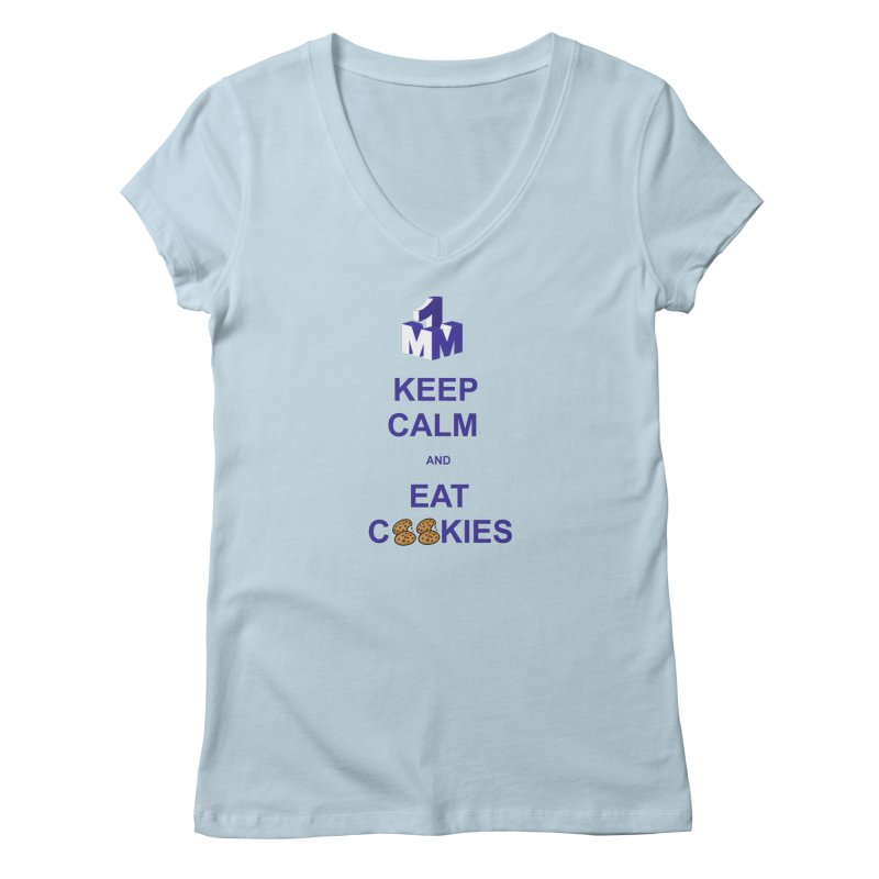 Keep Calm Women's V-Neck by 1madmamma's Shop
