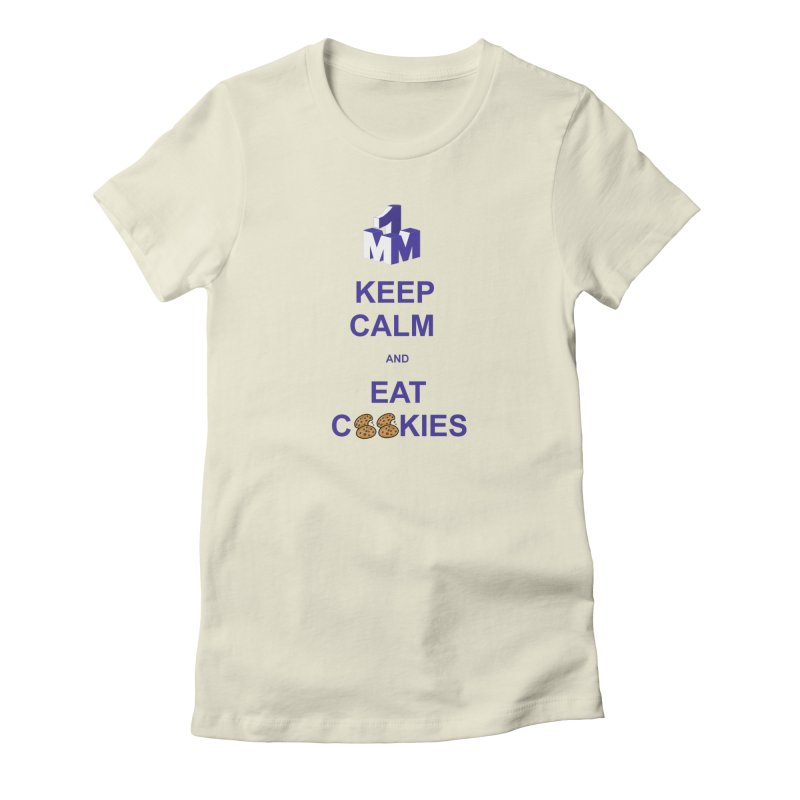 Keep Calm Women's Fitted T-Shirt by 1madmamma's Shop