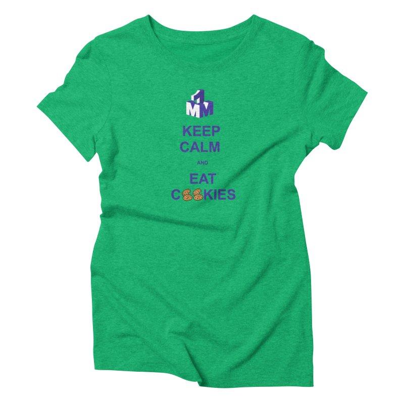 Keep Calm Women's Triblend T-Shirt by 1madmamma's Shop