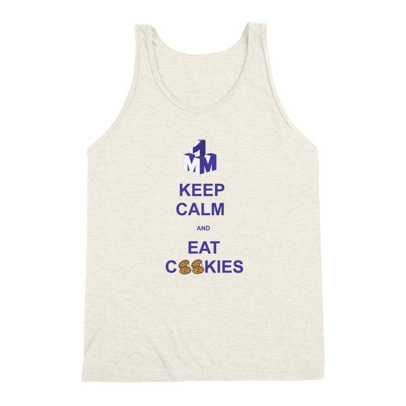 Keep Calm Men's Triblend Tank by 1madmamma's Shop