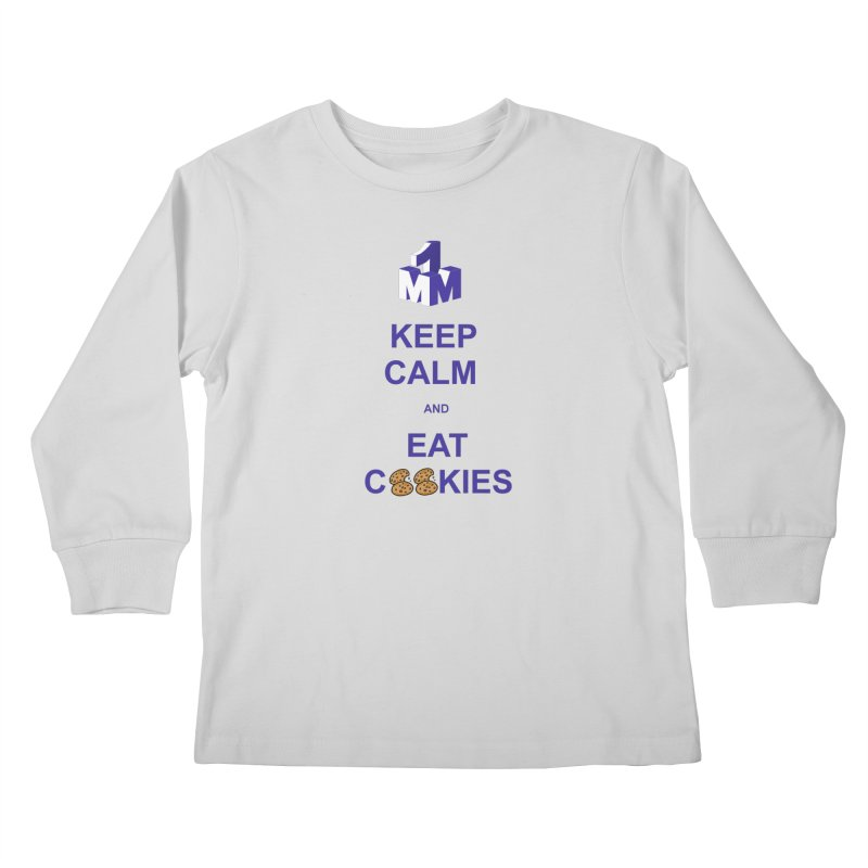 Keep Calm Kids Longsleeve T-Shirt by 1madmamma's Shop