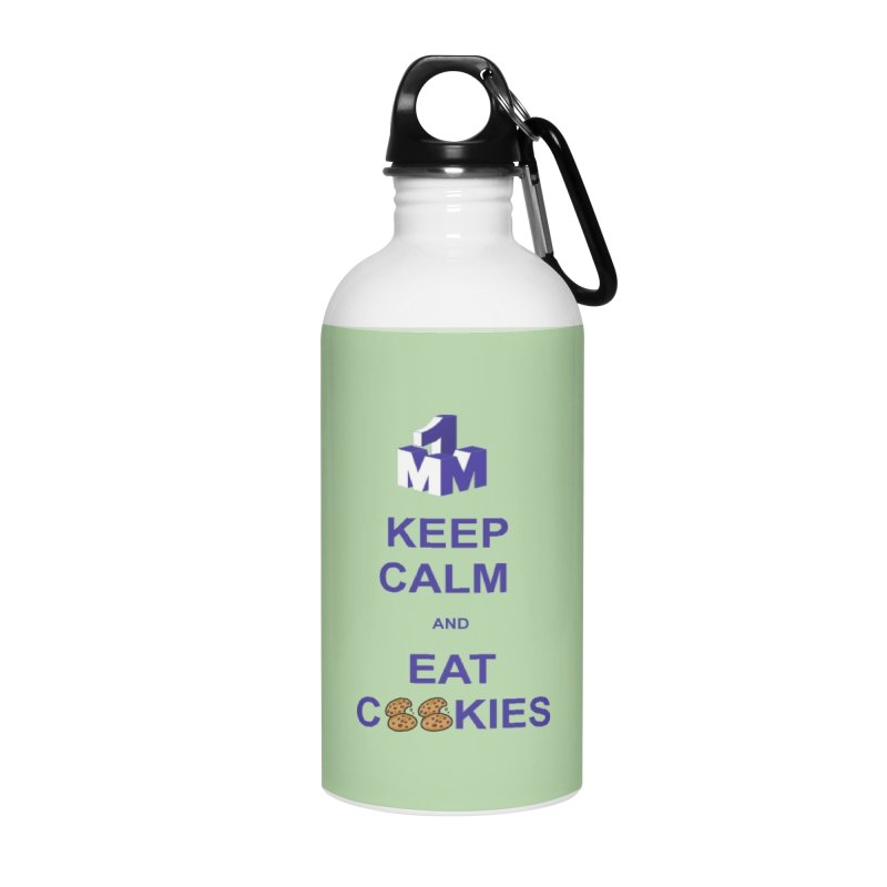 Keep Calm Accessories Water Bottle by 1madmamma's Shop