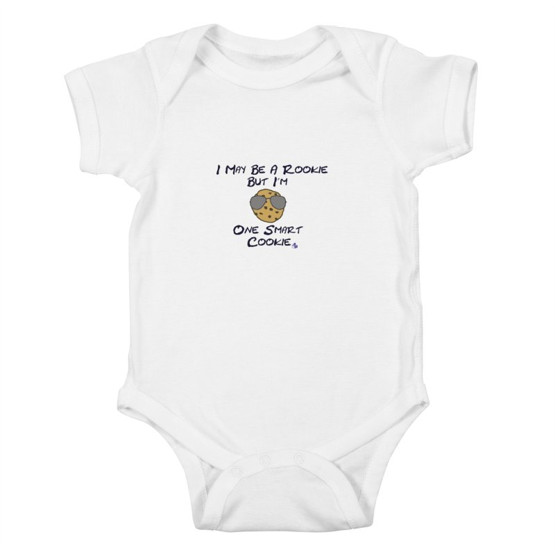 Cookie Rookie Kids Baby Bodysuit by 1madmamma's Shop