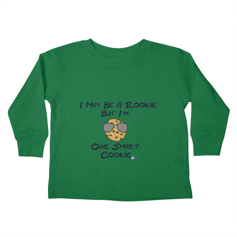Cookie Rookie Kids Toddler Longsleeve T-Shirt by 1madmamma's Shop
