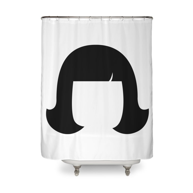 Amelie Poulain Home Shower Curtain by 1tinta