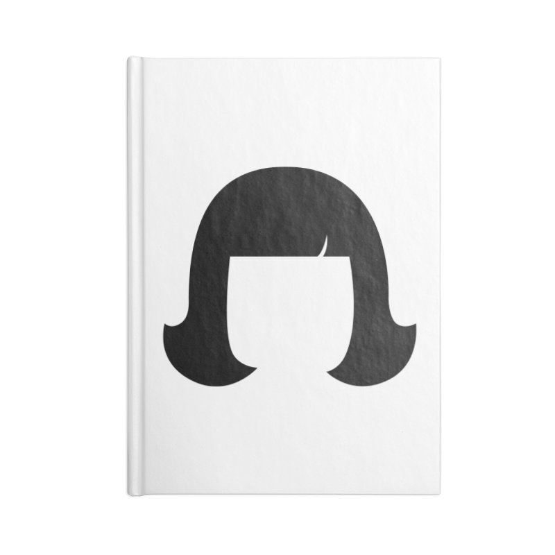 Amelie Poulain Accessories Blank Journal Notebook by 1tinta