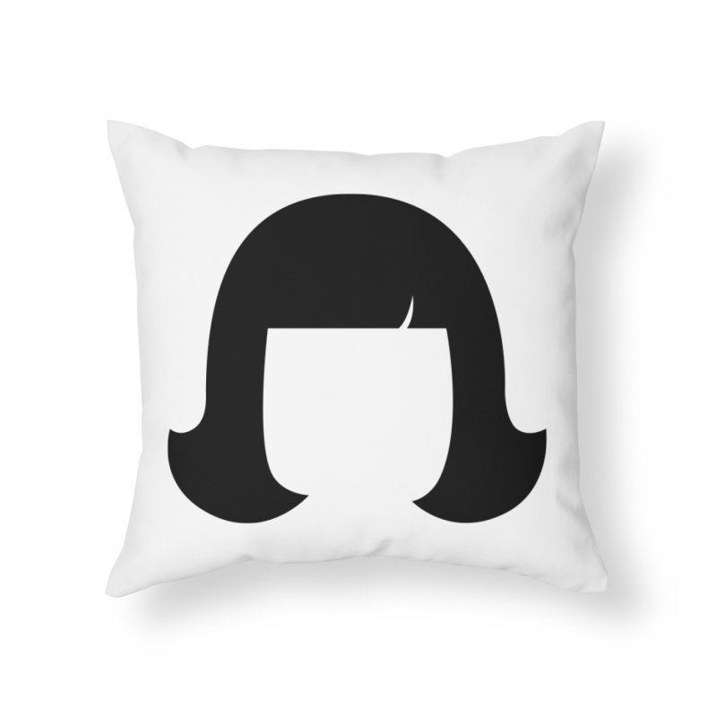 Amelie Poulain Home Throw Pillow by 1tinta