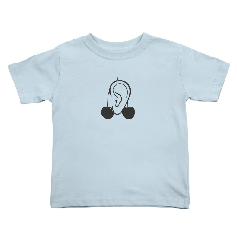 Cherries Kids Toddler T-Shirt by 1tinta