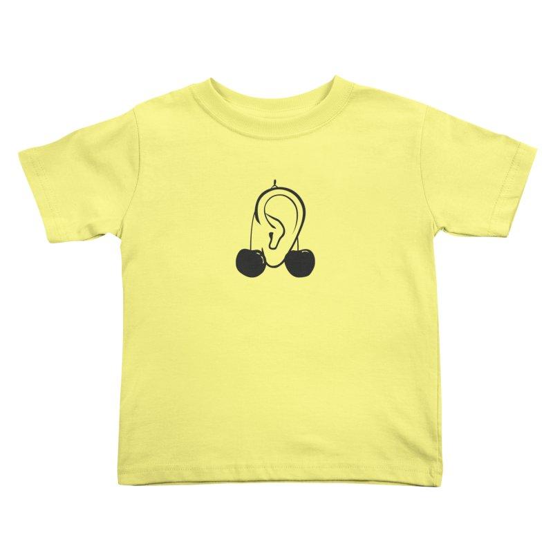 Cherries Kids Toddler T-Shirt by 1tinta