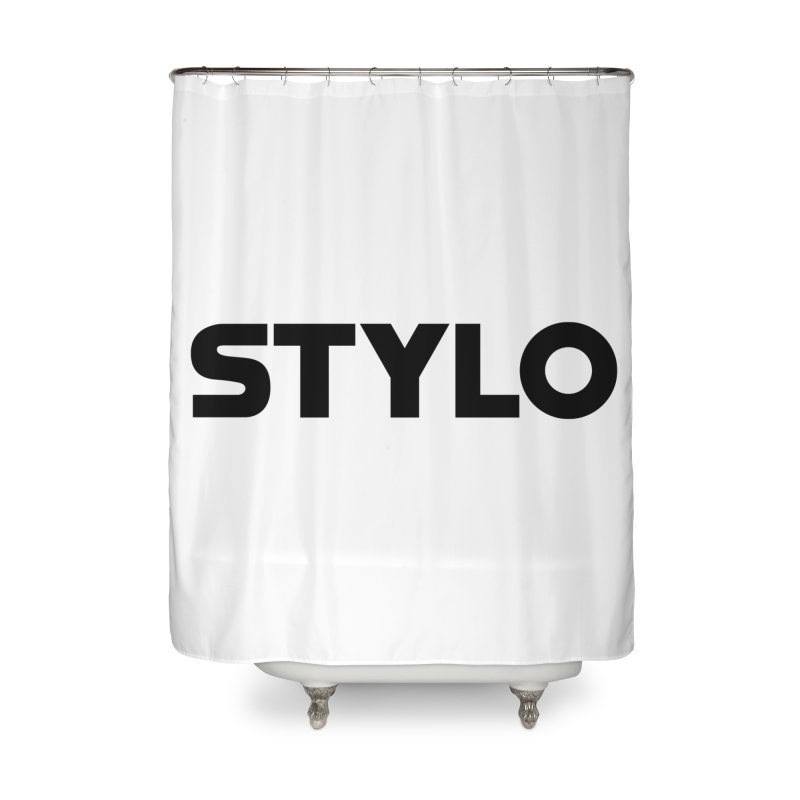 STYLO Home Shower Curtain by 1tinta