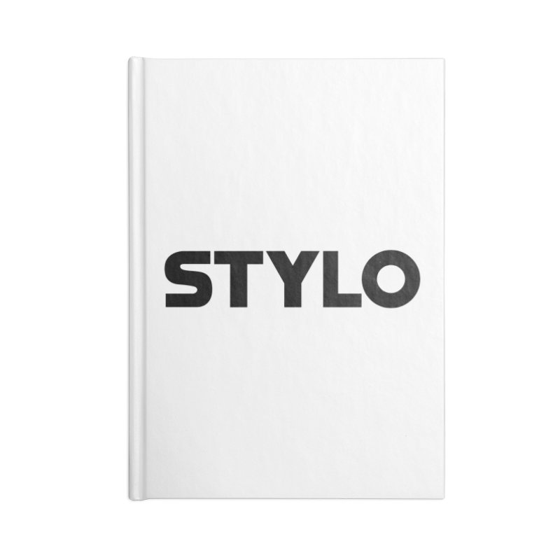 STYLO Accessories Blank Journal Notebook by 1tinta