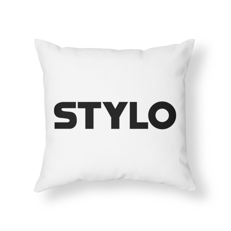 STYLO Home Throw Pillow by 1tinta