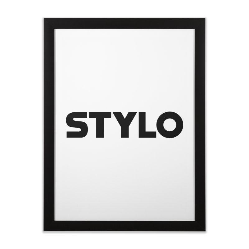 STYLO Home Framed Fine Art Print by 1tinta