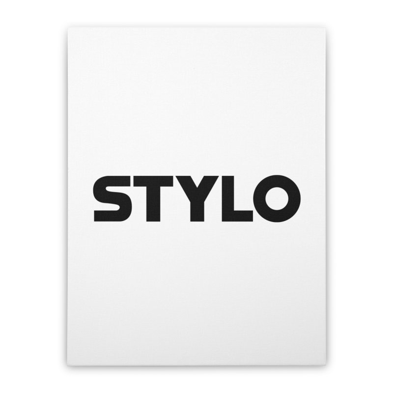 STYLO Home Stretched Canvas by 1tinta