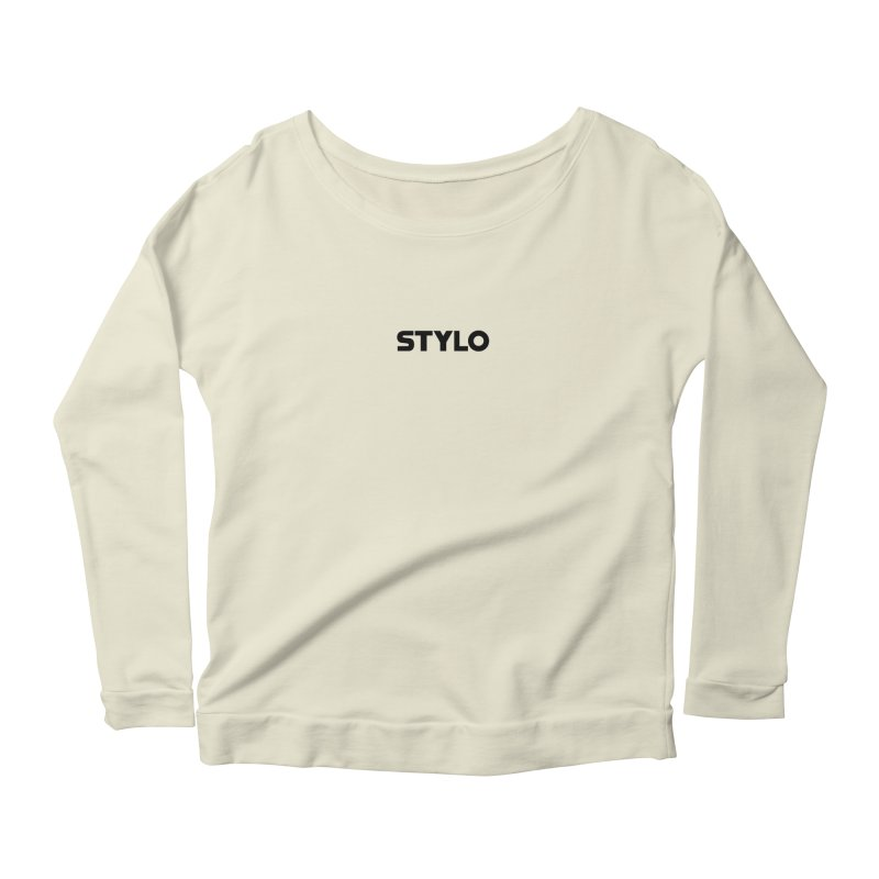 STYLO Women's Scoop Neck Longsleeve T-Shirt by 1tinta