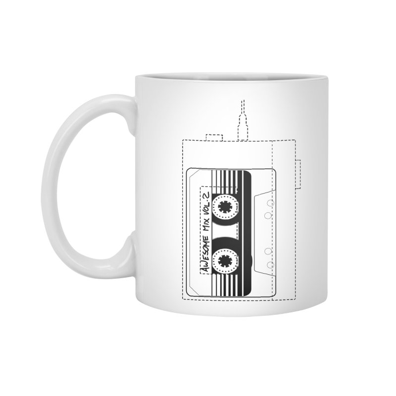 Awesome Mix Vol.2 Accessories Standard Mug by 1tinta