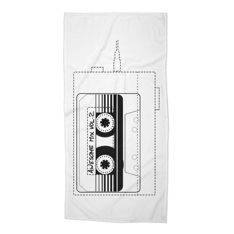 Awesome Mix Vol.2 Accessories Beach Towel by 1tinta