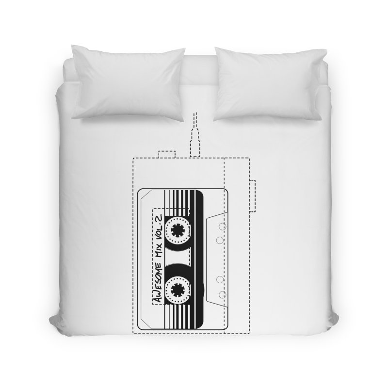 Awesome Mix Vol.2 Home Duvet by 1tinta