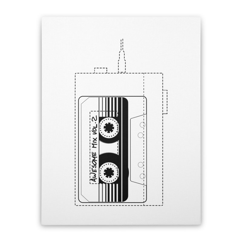 Awesome Mix Vol.2 Home Stretched Canvas by 1tinta