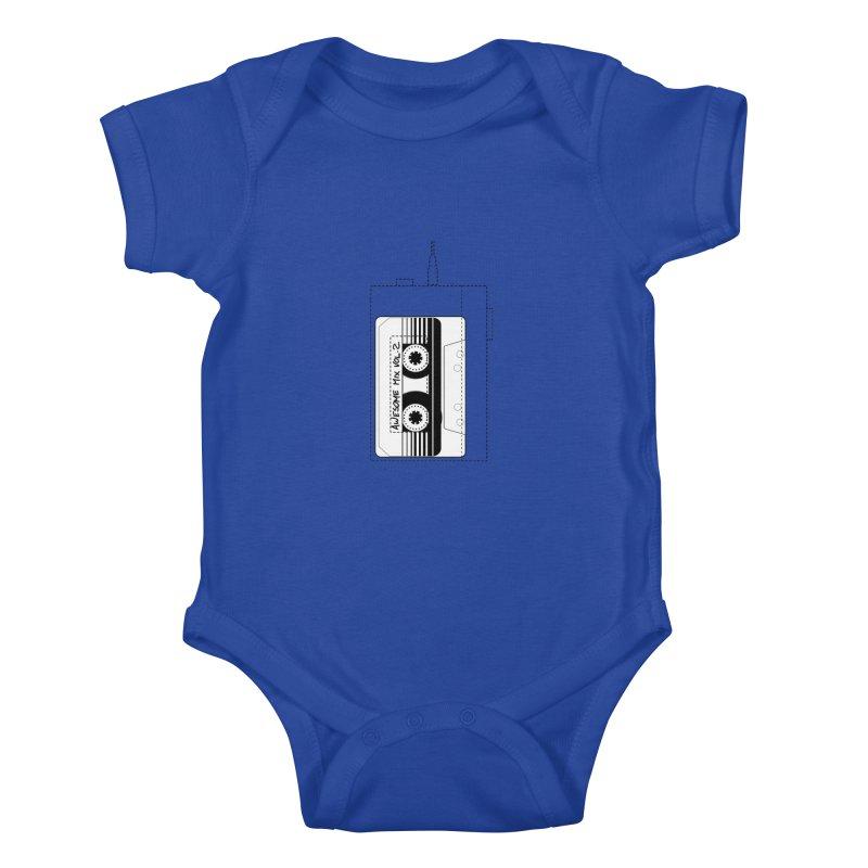 Awesome Mix Vol.2 Kids Baby Bodysuit by 1tinta
