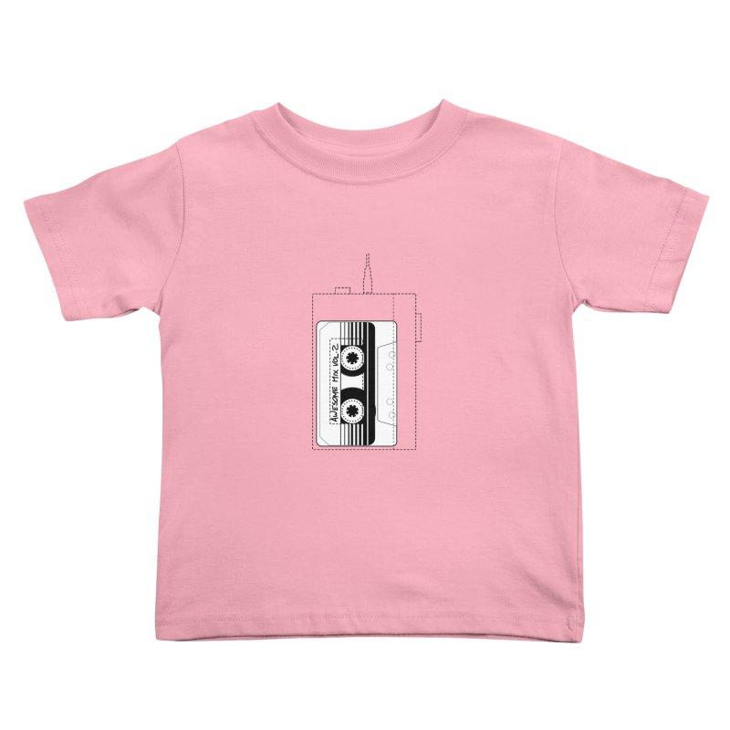 Awesome Mix Vol.2 Kids Toddler T-Shirt by 1tinta