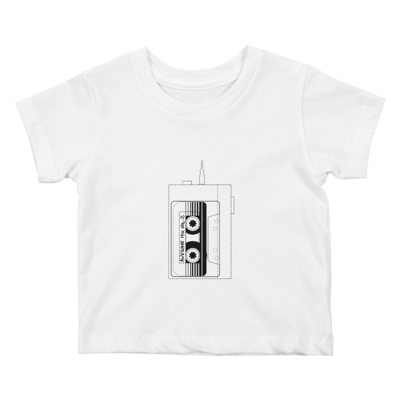 Awesome Mix Vol.2 Kids Baby T-Shirt by 1tinta