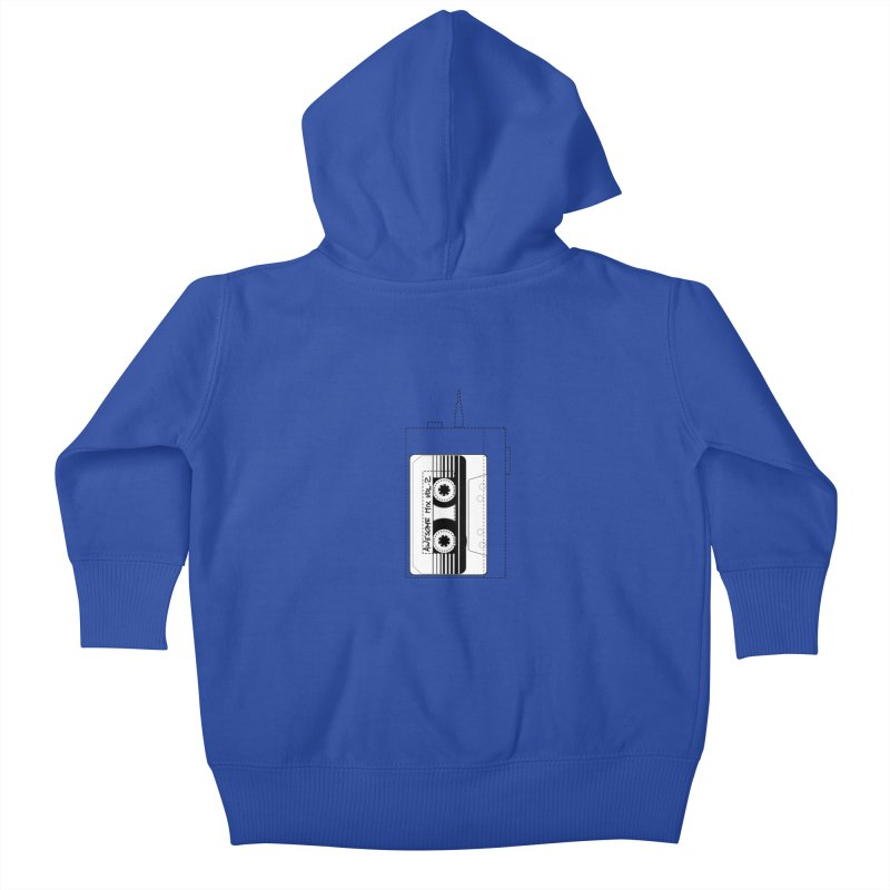 Awesome Mix Vol.2 Kids Baby Zip-Up Hoody by 1tinta