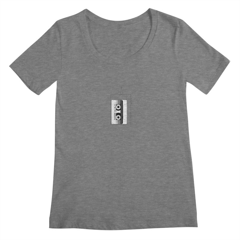 Awesome Mix Vol.2 Women's Scoopneck by 1tinta