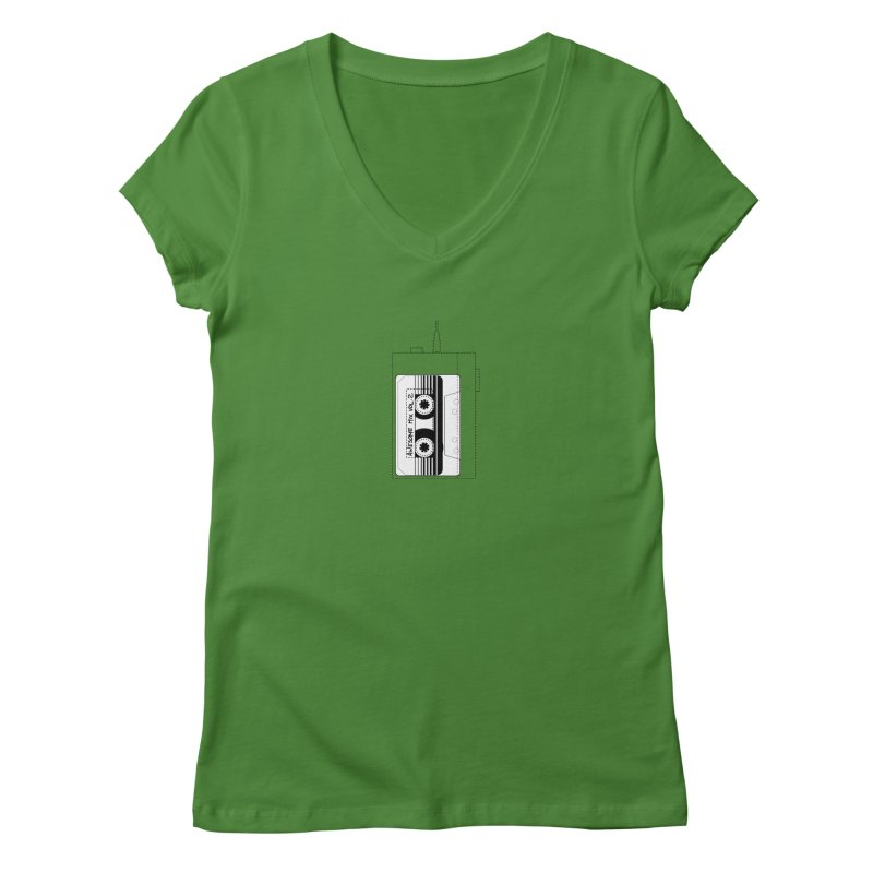 Awesome Mix Vol.2 Women's V-Neck by 1tinta