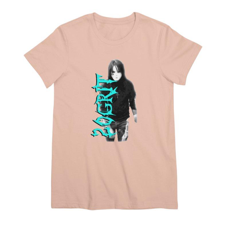 20GRIT - #13a Women's Premium T-Shirt by 20grit's Band Artist Shop