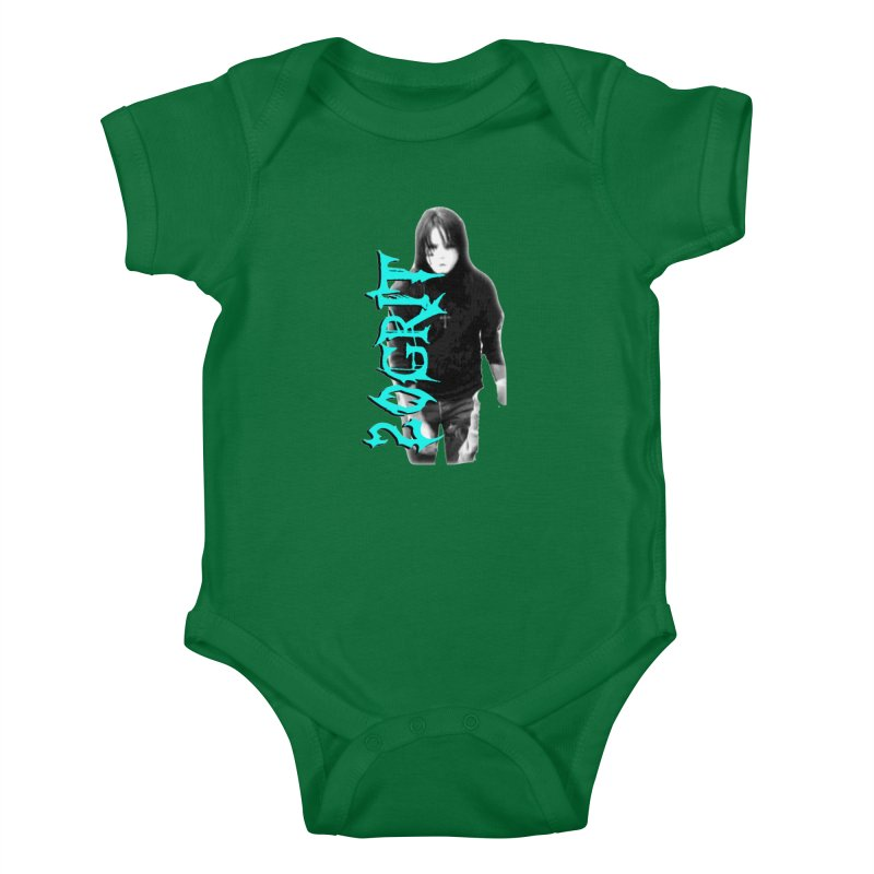 20GRIT - #13a Kids Baby Bodysuit by 20grit's Band Artist Shop