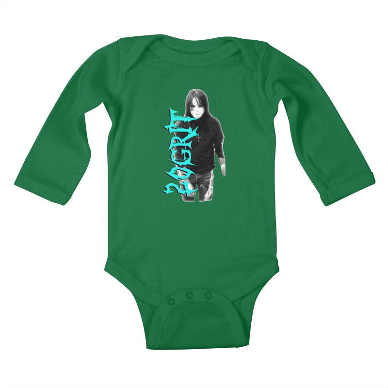 20GRIT - #13a Kids Baby Longsleeve Bodysuit by 20grit's Band Artist Shop