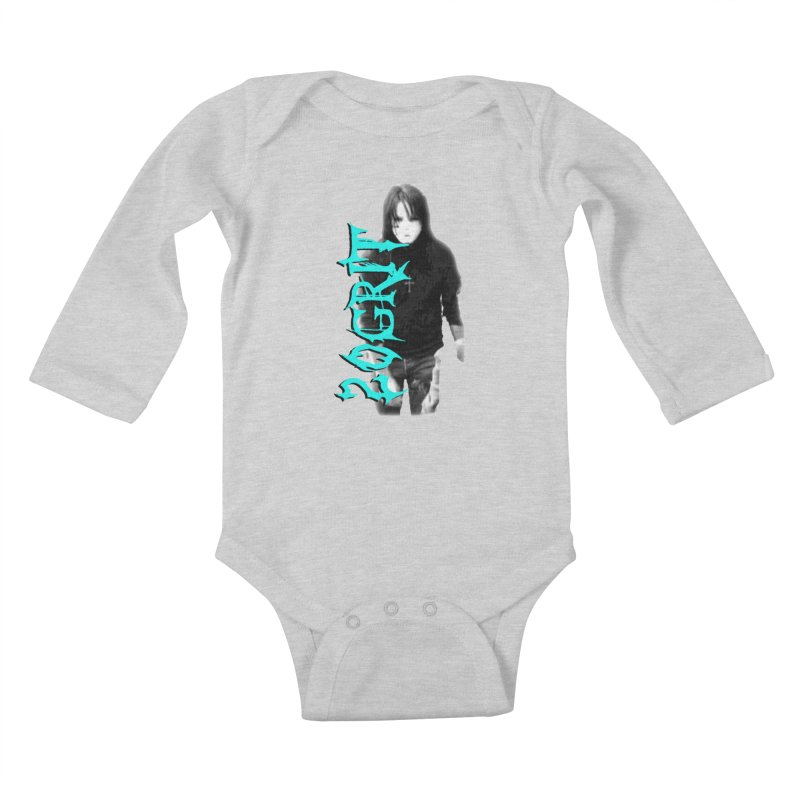 20GRIT - #13a Kids Baby Longsleeve Bodysuit by 20grit's Band Artist Shop