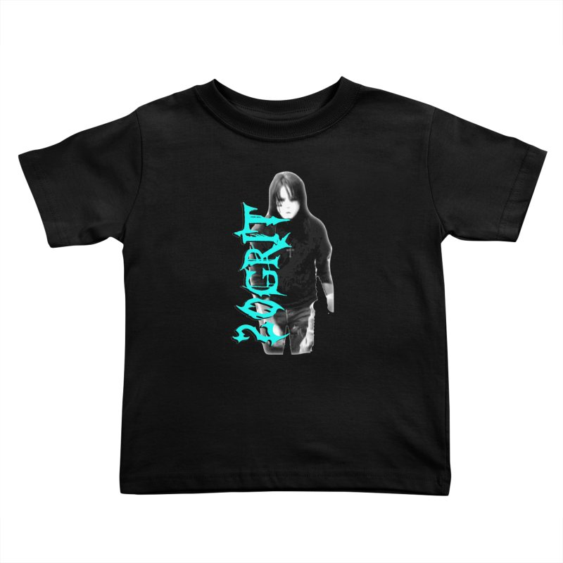 20GRIT - #13a Kids Toddler T-Shirt by 20grit's Band Artist Shop