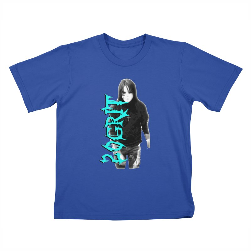 20GRIT - #13a Kids T-Shirt by 20grit's Band Artist Shop