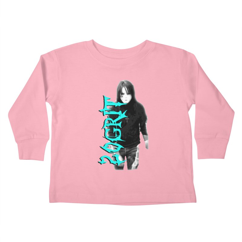 20GRIT - #13a Kids Toddler Longsleeve T-Shirt by 20grit's Band Artist Shop