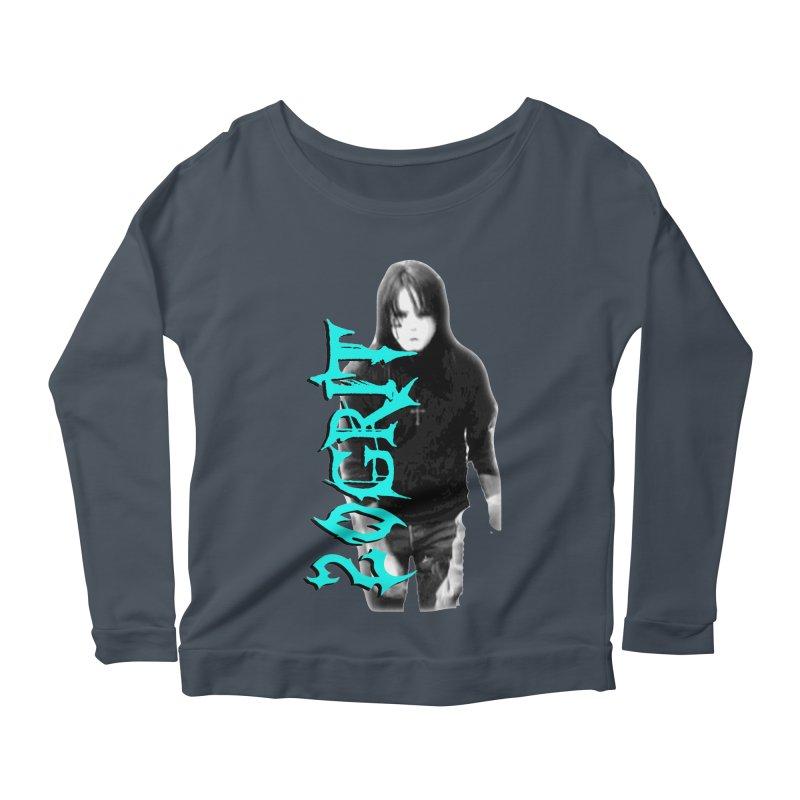 20GRIT - #13a Women's Scoop Neck Longsleeve T-Shirt by 20grit's Band Artist Shop