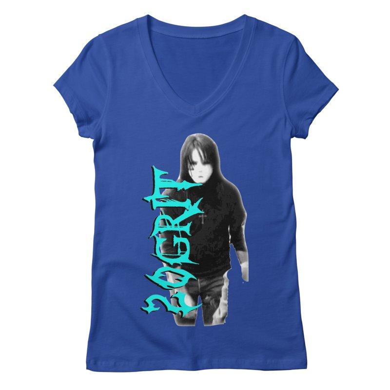 20GRIT - #13a Women's V-Neck by 20grit's Band Artist Shop