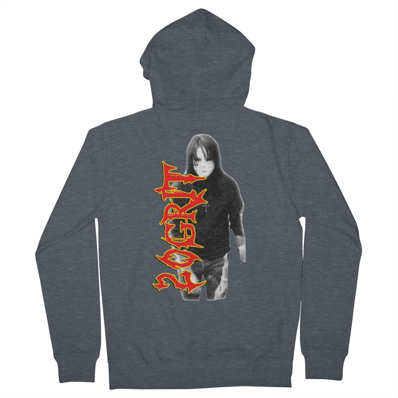 20GRIT - #28a Women's French Terry Zip-Up Hoody by 20grit's Band Artist Shop